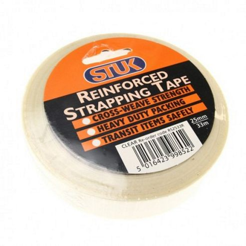 Reinforced Strapping Tape 25mm x 33m