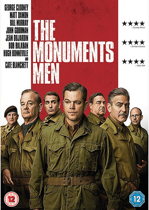 The Monuments Men, DVD