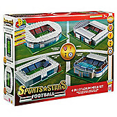 Character Build Sports Stars 4 in 1 Stadium