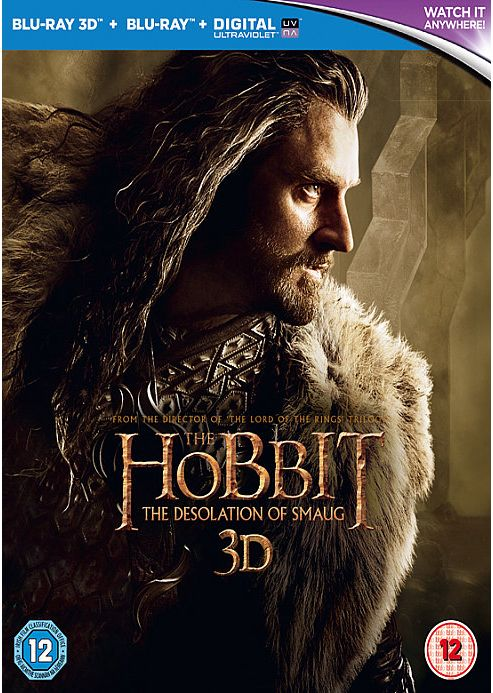 The Hobbit: The Desolation Of Smaug - 3D Bluray