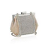 Sparkling Diamante Evening Clutch Bag