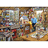 Grandads Wrkshp 1000 piece jigsaw