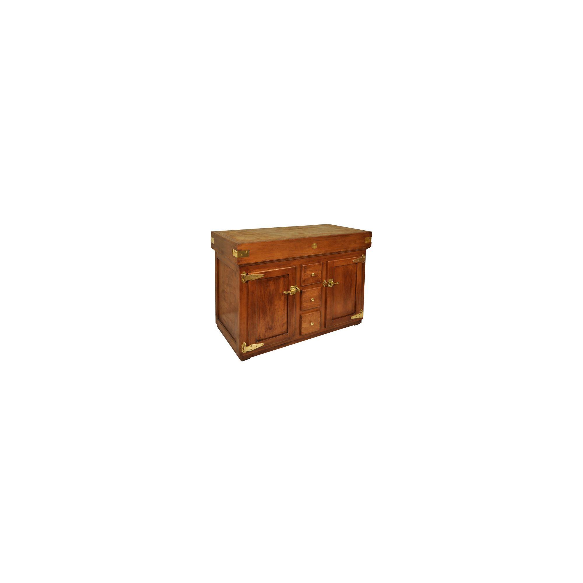 Chabret Antique ''Icebox'' Wooden Block - 90cm X 120cm x 60cm at Tesco Direct