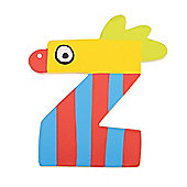 Tatiri Crazy Bird Letter Z (Yellow)