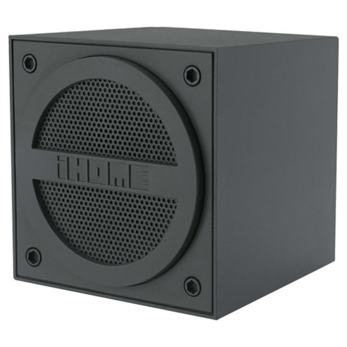 iHome IBT16 Bluetooth Speaker Grey