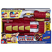 Nerf Marvel Captain America Slide Blast Armour