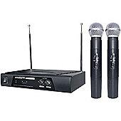 KAM KWM11 Dual VHF Wireless Mic System