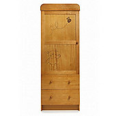 Obaby B is for Bear Single Wardrobe - Country Pine