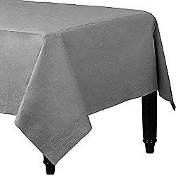 Silver Tablecover - 3ply Paper - 1.4m x 2.8m