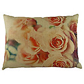 Rose Print Cushion