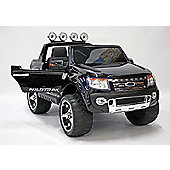 Kids Electric Car Ford Ranger 12 Volt Black Gloss