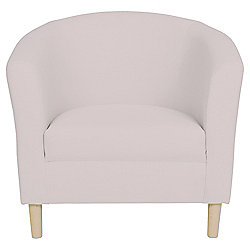 Tub Fabric Accent Chair Taupe