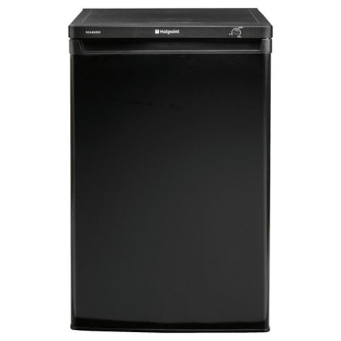 Hotpoint RZAAV22K Freezer, A+ Energy Rating, Black, 60cm
