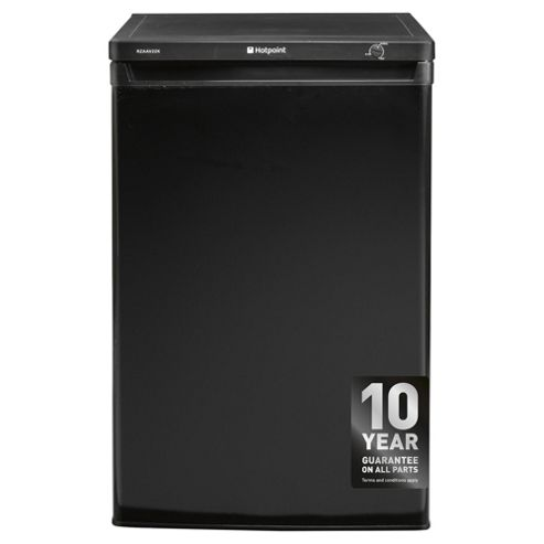 Hotpoint RZAAV22K Freezer, A+ Energy Rating, Black, 60cm