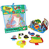 Meadow Kids Treasure Island Floating Activity Bath Set