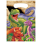 Dino Blast Party Plastic Party Bags (8pk)