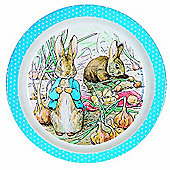 Petit Jour Peter Rabbit Plate Blue