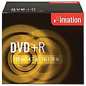Imation Corp. DVD+R 16X 4.7Gb Pack of 10
