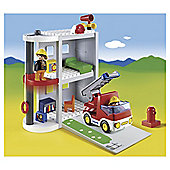Playmobil 123 Take Along Fire Station