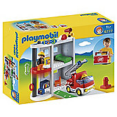Playmobil 123 Take Along Fire Station 6777