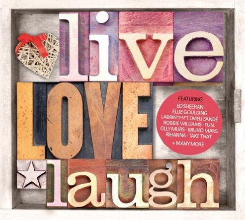 Live Love Laugh (3CD)