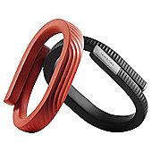 Jawbone UP24 Wireless Fitness Tracker Persimmon Small
