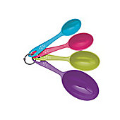 Kitchen Craft Colourworks Measuring Spoon/Cup X4