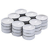Tesco White Linen 27pk Tealights