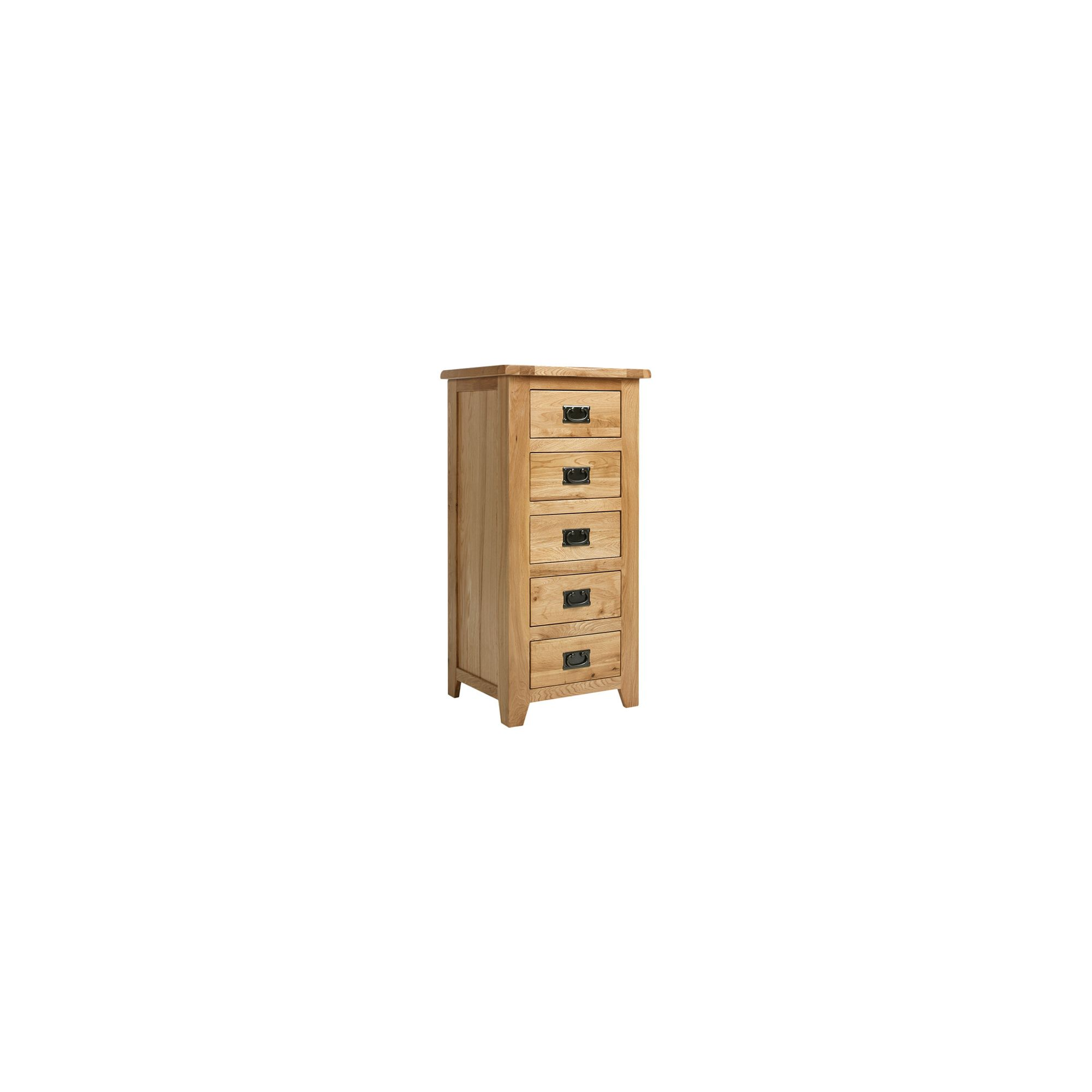 Ametis Westbury Reclaimed Oak 5 Drawer Wellington Chest at Tescos Direct