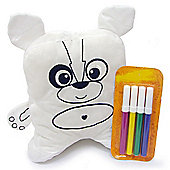 Doodle Buddy Soft Toy with Marker Pens