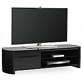 Alphason FW1350CB Black Oak Veneer TV Stand