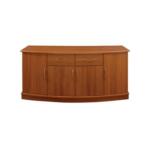 Caxton Delta Four Door and Two Drawer Sideboard in Teak