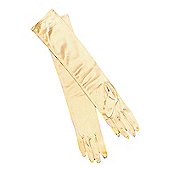 Long Opera Gloves - Gold