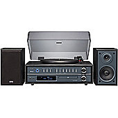 TEAC LPP1000 TURNTABLE/CD/FM/AM HIFI SYSTEM WITH BLUETOOTH (BLACK)