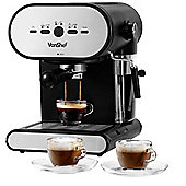 VonShef Espresso and Cappuccino Coffee Maker Machine 1L