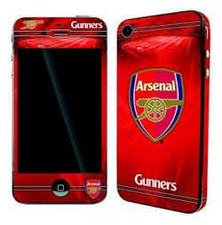 Arsenal 50393 Skin for iPhone 4