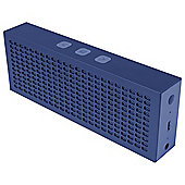HMDX Jam Titanium Bluetooth Speaker, Blue