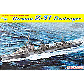 Dragon - German Z-31 Destroyer - 1:700 Scale 7126