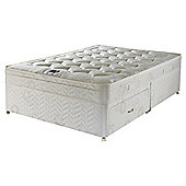 Airsprung Small Double Divan Bed, Hatton Cushiontop, 4 Drawer