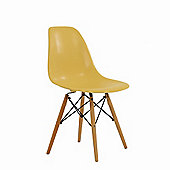 Charles Eames Inspired Eiffel DSW Red Dining Chair