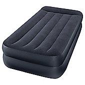 Intex Twin Pillow Raised Airbed with Built-in Pump