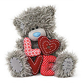 Me to You Tatty Teddy bear holding Love letters