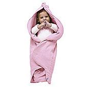 Wallaboo Fleur Wrapper, Pink