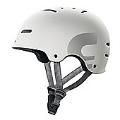Carrera E00390 X-01 Skate Helmet Matt White Small Medium 54-58cm