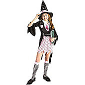 Child Charm School Witch Costume Medium