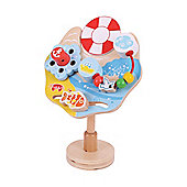 Bigjigs Toys BB086 Marine Suction Activity Centre