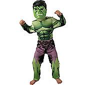 Hulk - Child Costume 5-6 years