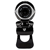 V7 CS0300-1E Vantage 300 Webcam USB 640 x 800 (Black/Silver)