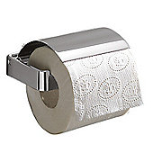 Gedy Lounge Toilet Roll Holder in Chrome with Flap