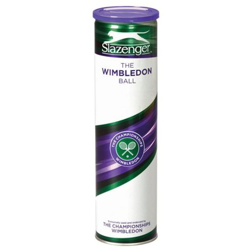 Slazenger Wimbledon 4 Pack Tennis Ball